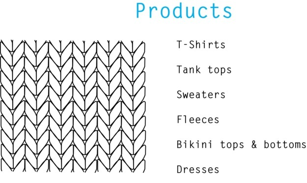 PRODUCTS KNIT